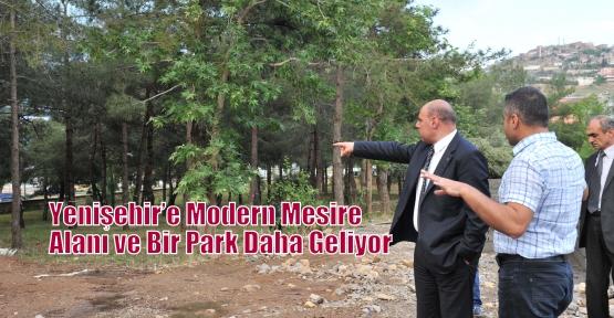 Yenişehir'e Modern Mesire Alanı  ve Bir Park Daha Geliyor