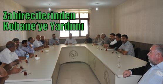Zahirecilerinden Kobane'ye  Yardımı