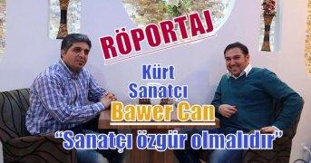 Kürt sanatçı Bawer Can: Sanatçɪ özgür olmalɪdɪr