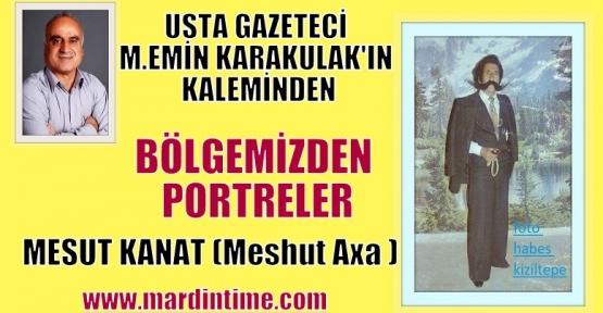 """Bölgemizden Portreler """"MESUT KANAT (Meshut Axa )"""""""