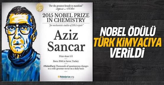 Nobel ödülü Türk'e verildi!