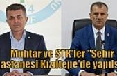 """Muhtar ve STK'ler """"Şehir hastanesi Kızıltepe'de yapılsın"""""""