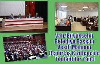 Vali/Büyükşehir Belediye Başkan Vekili Mahmut Demirtaş Kızıltepe'de Toplantılar Yaptı