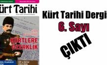 Kürt Tarihi (6. Sayı) Çıktı