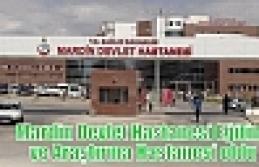 Mardin Devlet Hastanesi Eğitim ve Araştırma Hastanesi...