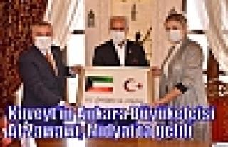 Kuveyt'in Ankara Büyükelçisi Al-Zawawi, Midyat'ta...