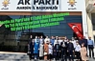 Mardin Ak Parti'den 17 Eylül Adnan Menderes Ve...