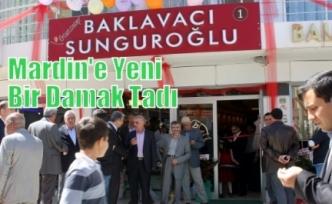 Mardin'e Yeni Bir Damak Tadı