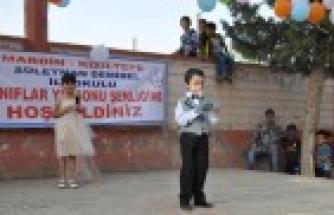 Süleyman Demirel İlkokulunda 1.Sınıflar Yıl Sonu Şenliği