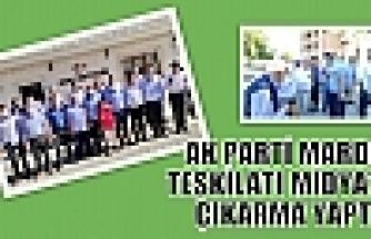 AK PARTİ MARDİN TEŞKİLATI MİDYAT'A ÇIKARMA YAPTI