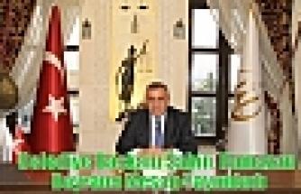 Belediye Başkanı Şahin, Ramazan Bayramı Mesajı Yayımladı