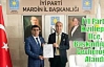 İYİ Parti Kızıltepe İlçe Başkanlığına Cevheroğlu Atandı