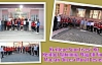 Kızıltepe Spor Lisesi  Kız Hentbol Takımına Play Off Final Maçları Öncesi Moral Desteği