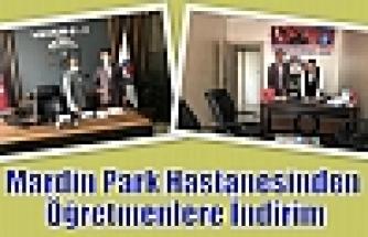 Mardin Park Hastanesinden Öğretmenlere İndirim