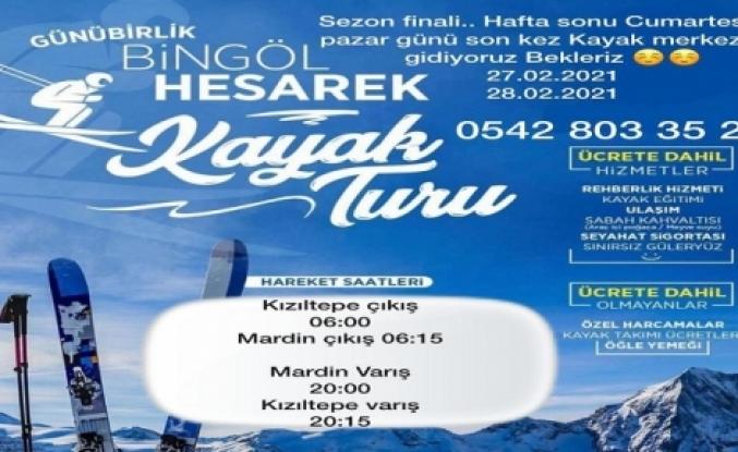 Kızıltepe Ve Mardin'den Bingöl'e Kayak Turu