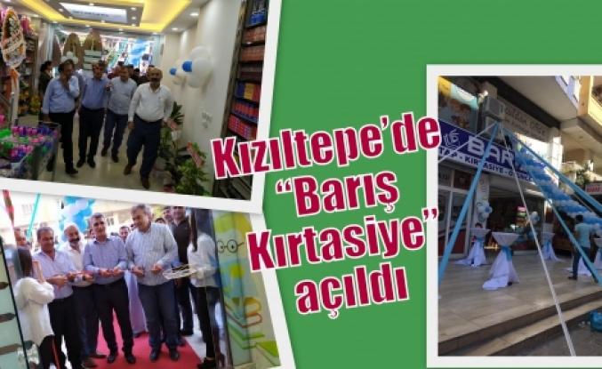 """Kızıltepe'de """"Barış Kırtasiye"""" açıldı"""