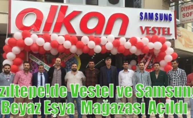 Kızıltepe'de Vestel ve Samsung Beyaz Eşya  Mağazası Açıldı