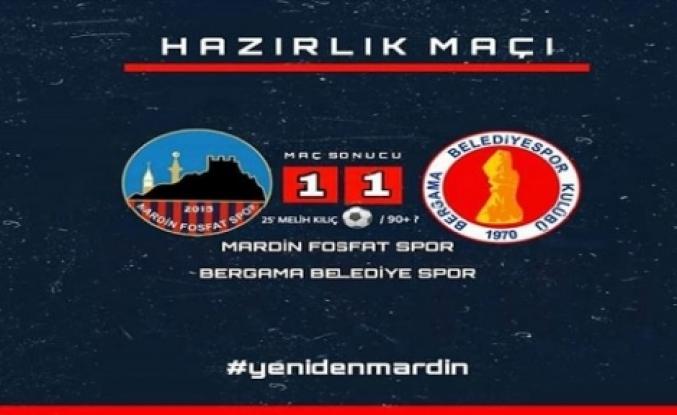 Mardin Fosfatspor: 1-1 Bergamaspor