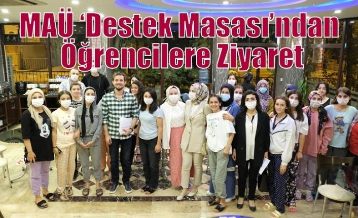 MAÜ 'Destek Masası'ndan Öğrencilere Ziyaret